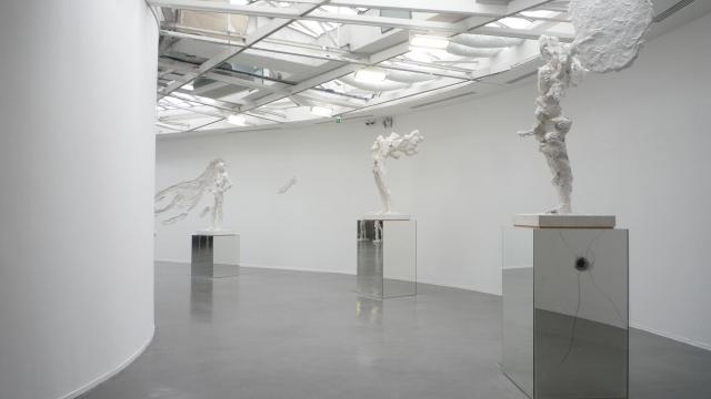 Vue exposition Flux, David Altmejd