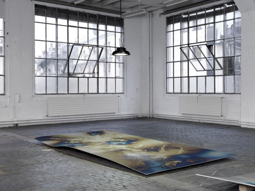 Raphael Hefti, OR OR OR. Vue d'exposition au Centre d'Art Contemporain Genève, 2015. Photo Annik Wetter. Courtesy de l'artiste et centre d'art contemporain Genève.