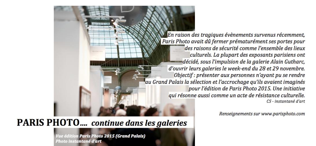 Paris Photo 2015 (c) instantané d'art